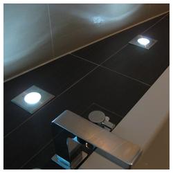 s.LUCE LED Gartenleuchte Level Edelstahl eckig IP67