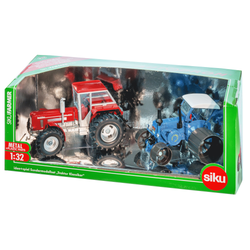 SIKU 8516 1:32 2er Set Old-und Youngtimer Traktoren
