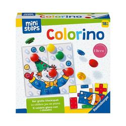 Ravensburger Lernspielzeug ministeps® Colorino - Steckspiel, Farben-Lernspiel