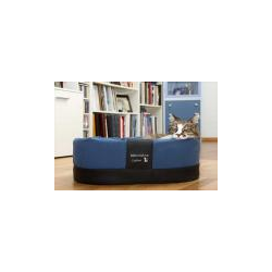 Exklusiver Katzenkorb Amy Style 55x42x18cm blau