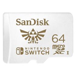 Sandisk microSDXC 64GB UHS-I für Nintendo Switch Speicherkarte