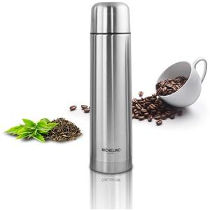 Thermoskanne Vacuum-Isolierfalsche 0,5 Liter Edelstahl BPA-Frei mobiler Kaffeebecher, Tee Kafee Thermosflasche Kaffeebecher to go