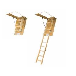 FAKRO Mehrteilige Bodenklapptreppen aus Holz LWS Smart