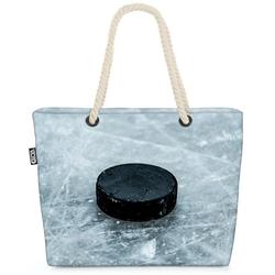 VOID Strandtasche (1-tlg), Eishockey Puck Sport Eishockey Puck Sport Eishockeypuck Sport Schlitt