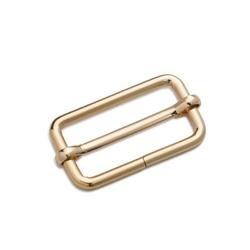 PRYM Leiterschnalle, 30mm, new gold, 100% Metall, Zubehör, Taschenzubehör