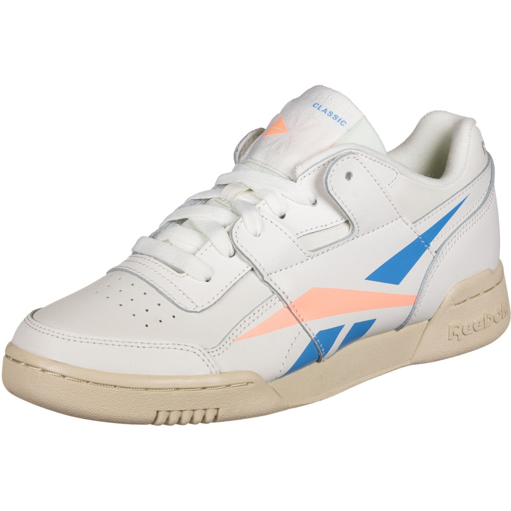 Reebok Workout Lo Plus white blue light beige, 40 ab 51,90