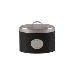 Michelino Keksdose Keksdose mit Griff, Metall, (1-tlg) schwarz