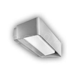 Wandlampe LED Aussenlampe Caroline IP65 silber