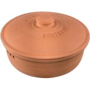 Römertopf Brot-Frische-Topf rund terracotta 4,5 Liter