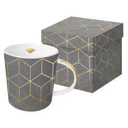 PPD Tasse ZicZac Cement Gold