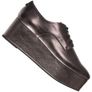 Calvin Klein Platform Oxford Damen Schuhe E5566GUN - 40