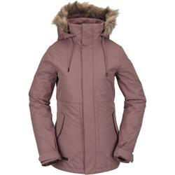 Volcom - Fawn Ins Jacket Rose Wood - Skijacken - Größe: S