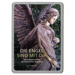 Die Engel sind mit dir 20 Postkarten