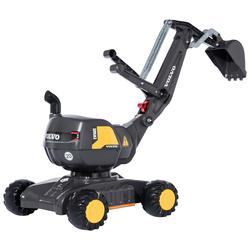 Rolly Toys Spielzeug-Aufsitzbagger Digger Volvo, BxLxH: 43x102x74 cm grau Kinder Sandkiste Sandspielzeug Outdoor-Spielzeug