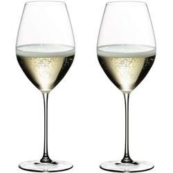 RIEDEL Glas Champagnerglas RIEDELVeritas Champagner Wine Glas 2er Set, Glas