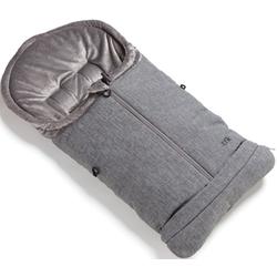 tfk Fußsack premium grau, mit verlängerbarem Fußteil grau