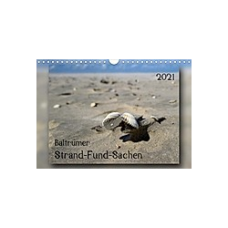Baltrumer Strand-Fund-Sachen (Wandkalender 2021 DIN A4 quer)