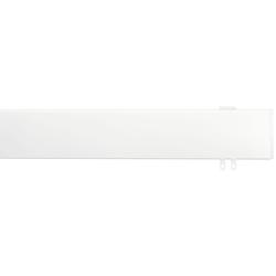 indeko Innenlaufschiene Ovum3, 1 läufig-läufig, Wunschmaßlänge weiß Gardinenschienen Gardinen Vorhänge