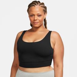 Nike Yogatop Yoga Luxe Women's Crop Top schwarz Damen Tops
