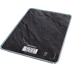 Soehnle Küchenwaage Page Compact 300 Slate, Tragkraft 5 kg, 1 g genaue Teilung