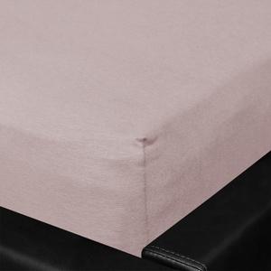 BETTWARENSHOP Spannbettlaken Nicole Mako-Jersey, aus reiner Baumwolle mit Gummizug grau Bettlaken Betttücher Bettwäsche, und