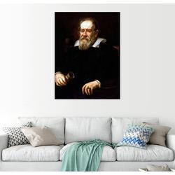 Posterlounge Wandbild, Galileo Galilei 60 cm x 80 cm