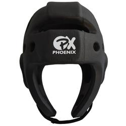 PX Kickbox-Kopfschutz EXPERT schwarz (Größe: M, Farbe: Schwarz)