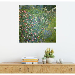 Posterlounge Wandbild, Italienische Gartenlandschaft 50 cm x 50 cm