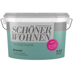 SCHÖNER WOHNEN-Kollektion Wand- und Deckenfarbe Trendfarbe Frozen, matt, 2,5 l