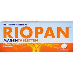 RIOPAN Magen Tabletten Kautabletten 20 St.