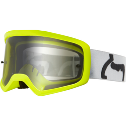 FOX Main 2 PC Prix Jugend Motocross Brille, grau