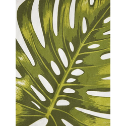 Kissenhülle bedruckt grün ca. 40/40 cm