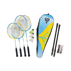 Talbot-Torro Badmintonschläger Badmintonset Family 4 Player