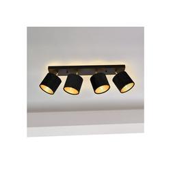 lux.pro Deckenleuchte, Wellington - mit 4 runden Lampenschirmen
