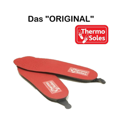 """Thermo Fußpolster THERMO SOLES die beheizten Schuhsohlen """"Das Original"""", Set 2-tlg., Legen Sie Ihre THERMO SOLES in die Schuhe und sie machen noch viel mehr als nur wärmen. 47"""