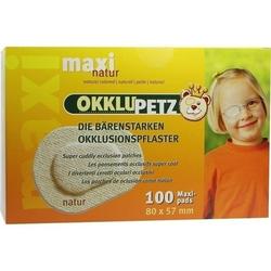 OKKLUPETZ Okklusionspflaster maxi natur 100 St.