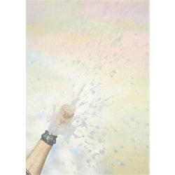 Sigel Designpapier Champagner DIN A4 90 g/m² Champagner 100 Blatt