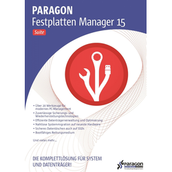 Paragon Hard Disk Manager 15 Suite [Pobierz]