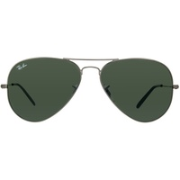 58mm polished gunmetal / classic green