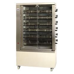 GGG Hähnchengrill Elektro 1098x480x1860 mm 6 Spieße für 30-36 Hähnchen 400 V  198 kW 6EE