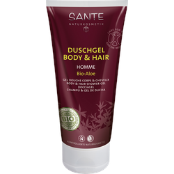 Homme Duschgel Body & Hair 2in1 Bio-Aloe 200 ml
