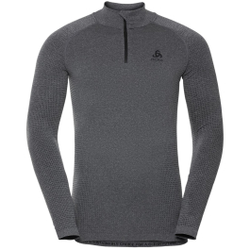 Odlo - T-Shirt ML 1/2 ZIP P - Unterwäsche - Größe: S