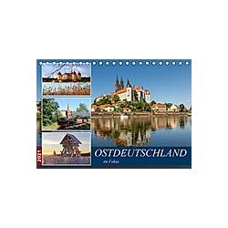 Ostdeutschland im Fokus (Tischkalender 2021 DIN A5 quer)