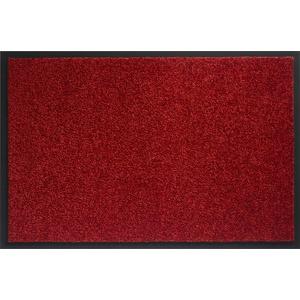 ID matt 406004 Mirande Teppich Fußmatte Faser Nylon/PVC gummiert Rouge-Bordeaux 60 x 40 x 0,9 cm