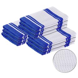 Mikrofaser-Küchentuch zum Trocknen & Polieren, 3D-Waffelpiqué, 9er-Set