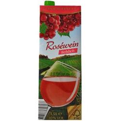 Italienischer Roséwein lieblich 10,0 % vol 1,5 Liter