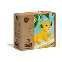 Disney The Lion King Puzzle Puzzle 60 Teile Play for Future - Disney König, Puzzleteile