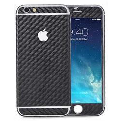 Handyfolie für iPhone 4 / 4s - Carbon