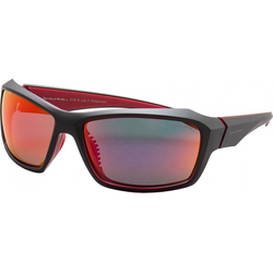 BASTA YANNICO Sonnenbrille black red/polarized red