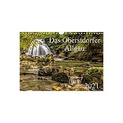 Das Oberstdorfer Allgäu (Wandkalender 2021 DIN A4 quer)